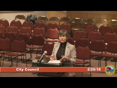 City Council 2.20.18