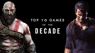 Top 10 Games of the Decade - RobinGaming