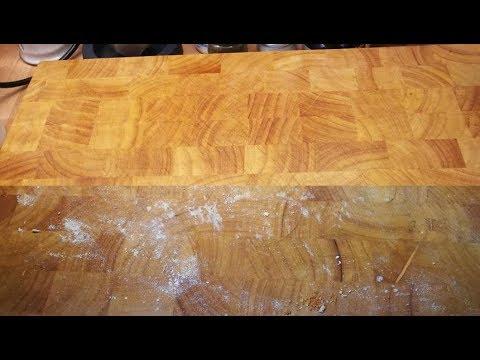 Küchentipp #10 Holzschneidebrett Reinigung und Pflege