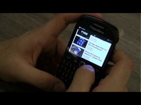 Blackberry Curve 9220 Unboxing and hands on Review