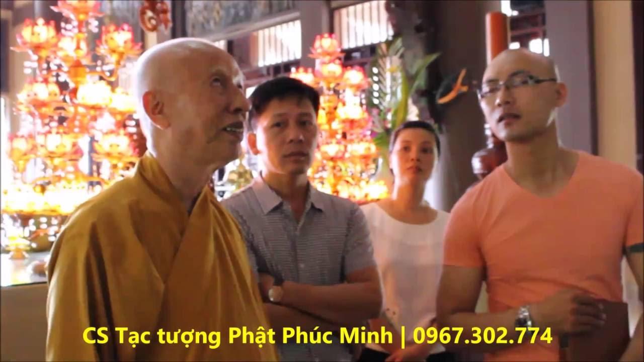 Trụ trì Thiền Viện Trúc Lâm Tây Thiên trao đổi về tạo Mẫu Đại tượng Phật lớn nhất Đông Nam Á
