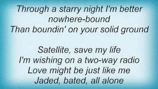 Anna Nalick - Satellite Lyrics
