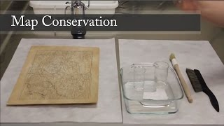 Conservation Lab: Map Treatment