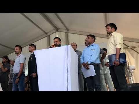 Delhi CM Arvind Kejriwal Felicitated Asian Games Players at Chandni Chowk