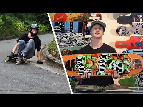 How to Choose a Downhill Longboard Deck - Tactics.com