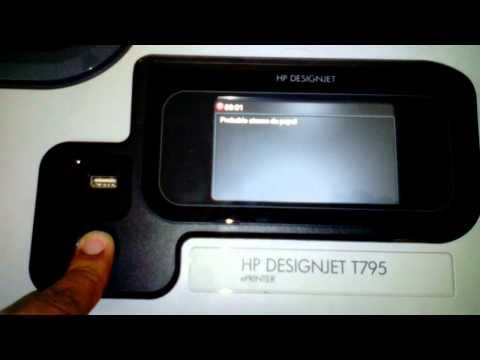 Problema de encendido en Impresora Plotter HP Designjet T795