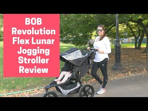 BOB Revolution Flex Lunar Jogging Stroller Review