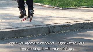 Смотреть онлайн Как правильно прыгать при катании на роликах
