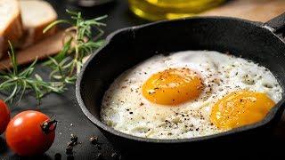 ЯИЧНИЦА лайфхак РЕЦЕПТ. ГЛАЗУНЬЯ на завтрак с помидорами и сыром