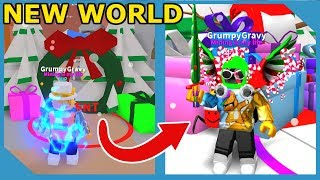 NEW CHRISTMAS WORLD AND HOLIDAY PETS IN ROBLOX MINING SIMULATOR
