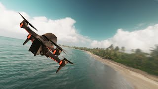 Puerto Rico Dorado Beach Cinematic DJI FPV GoPro Beach & Golf 4k