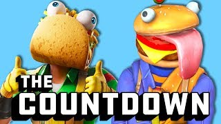 Ranking Fortnite Food Skins From Rotten To Fresh | The Countdown