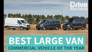 2019 Best Large Van | Ford Transit v Mercedes-Benz Sprinter v Volkswagen Crafter
