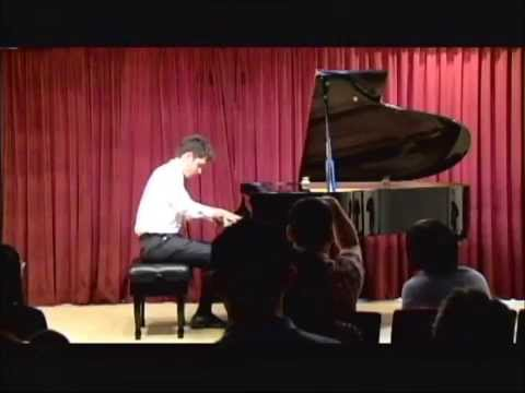 My student Jake Rudin is currently a student at the New England Conservatory