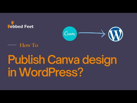 How to Publish Canva Design in WordPress
