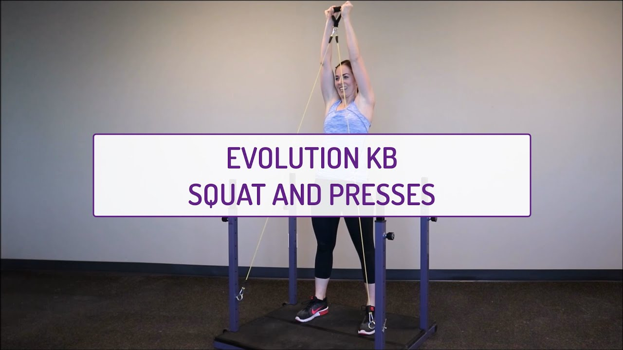 Evolution KB Squat and Presses
