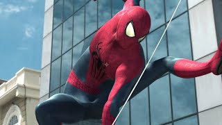 The AMAZING SPIDER-MAN in Real Life  - Parkour, Flips & Swings