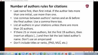 APA 7th Edition Reference Citations