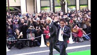 ダウンタウン登場で心斎橋が大パニック御堂筋ランウェイ2017.11大阪