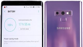 Samsung Galaxy Note 9 Battery Drain Test!