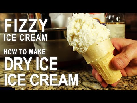 "Video How To Make Carbonated Ice Cream, ""Halloween Style""! (Dry Ice Cream)"