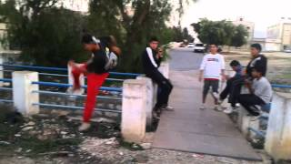preview picture of video 'Parkour-Tunis (Grombalia) 2014 [part/ 3] =)'