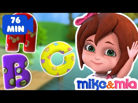 ABC Songs for Children | ABCD Alphabet Song | Nursery Rhymes & Kids Songs Collection by Mike and Mia