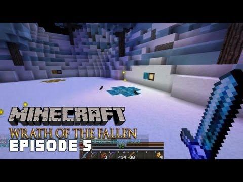 Minecraft: Wrath of the Fallen - #5 - ЛЕДЯНОЙ АД