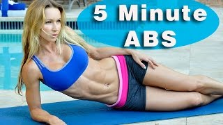 5 Minute Workout #45 - ABS ABS ABS!!! by Zuzka Light