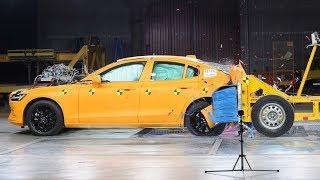 2019 Volvo S60 Crash Test