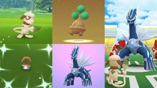 Smeargle  - (Pokémon) - Catch Smeargle,Meltan Shiny,Dialga, Egg Bonsly - Legendary Dialga in Raid Fights Pokémon GO!