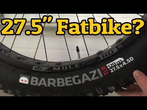 Bontrager Barbagazi 27.5×4.5 Fatbike Tire Review Weight and Width
