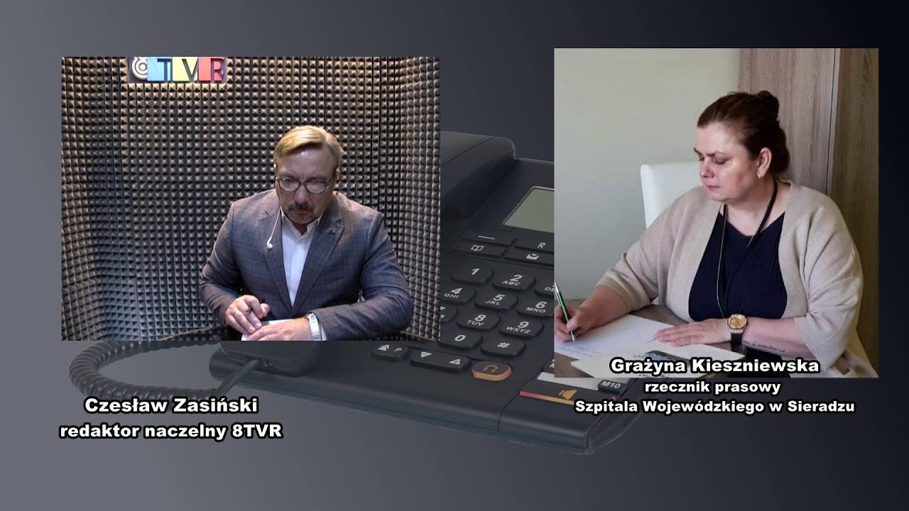 Nasze Sprawy – rozmowa z rzecznikiem Szpitala Wojewódzkiego w Sieradzu