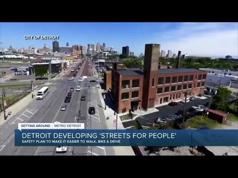 Detroit developing 'Streets for People'