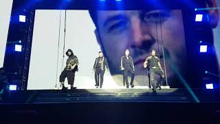 Boyzone 'Who We Are' and 'Love Is A Hurricane' Thank You And Goodnight tour Dublin 24/1/19