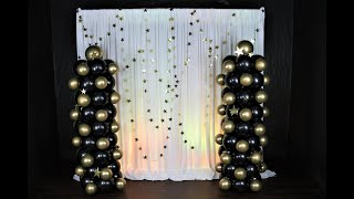 How To Make Balloon Columns | DIY | How To | Tutorial