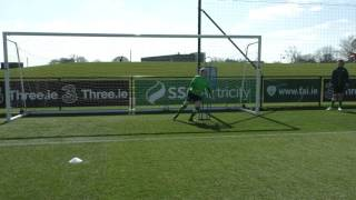 Niamh double action reaction high ball left side