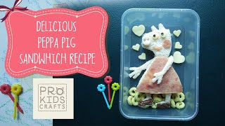 Peppa Pig Snack Ideas | Yummy and Simple Bento Recipe