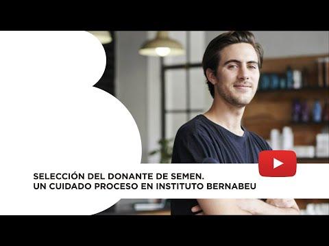 Selección del donante de semen. Un cuidado proceso en Instituto Bernabeu