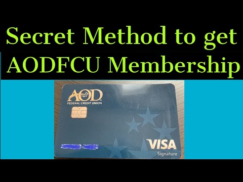 How to Get AODFCU Membership! What you need to know before you Apply (Must Watch)