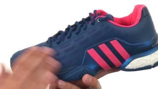 Ανδρικά παπούτσια τένις Adidas Barricade 2016 Boost video