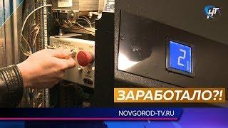 Ранее неработавший лифт в доме на улице Космонавтов запустился одновременно с прибытием журналистов