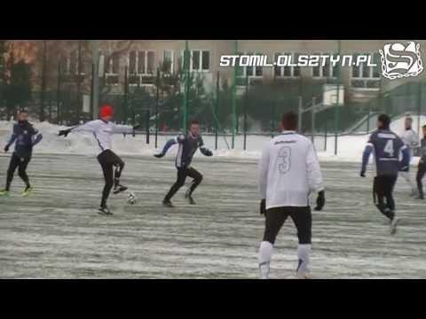 Skrót meczu Stomil Olsztyn - Sokół Ostróda 5:2