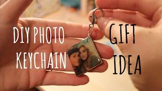 DIY Photo Keychain   Gift Idea