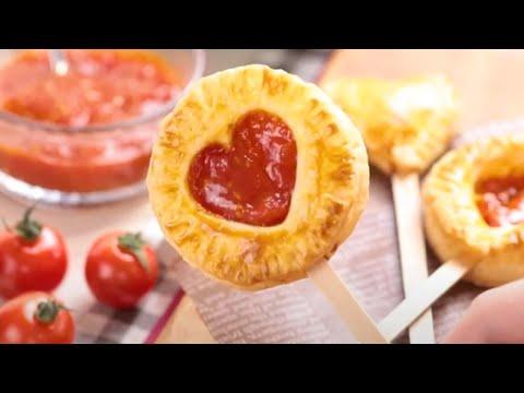 家族で作ろう♪「OSMICトマトPremiumのパイポップ」【OSMICトマト簡単レシピ】