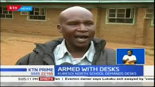 Class one pupils asked to come with their own furniture in Kuresoi