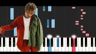 Juice WRLD   Lucid Dreams (Forget Me)  (Piano Tutorial)