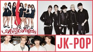 My Top 25 Personal favourite Korean J-POP Songs of 2015!