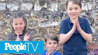 Prince George, Princess Charlotte & Prince Louis Applaud Healthcare Workers In Video | PeopleTV