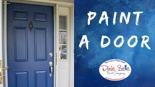 Front Door Paint Makeover In Less Than A Day | Roots & Wings Furniture